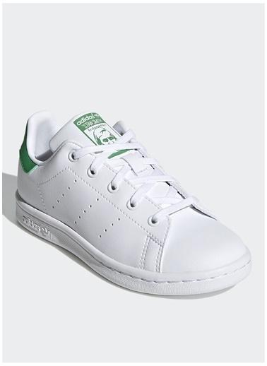 adidas Adidas Erkek Çocuk Beyaz-Yeşil Yürüyüş Ayakkabısı Beyaz
